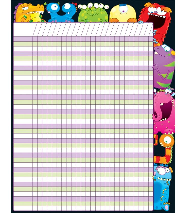 19 best My Carson-Dellosa Holiday Wish List images on Pinterest - printable attendance chart