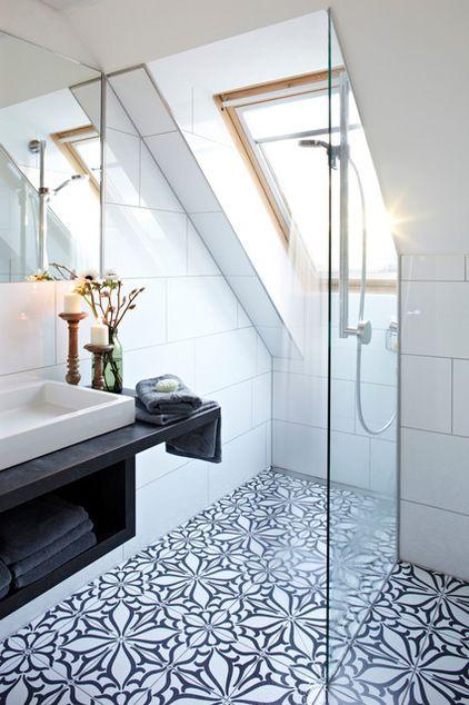 Die besten 25+ Badezimmer mit mosaik fliesen Ideen auf Pinterest - schwarz wei fliesen bad