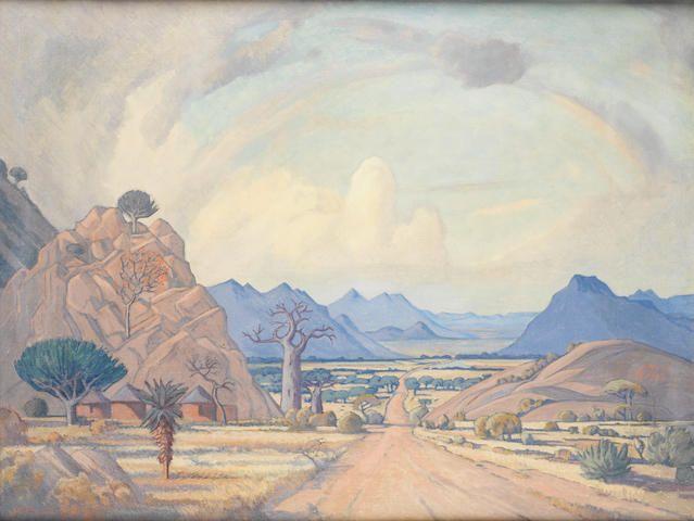 Jacob Hendrik Pierneef (South African, 1886-1957) Matlala, Pietersburg