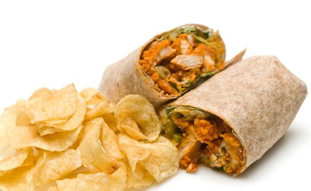 Buffalo Ranch Chicken Wraps. These flavorful wraps are great way to mix it up when your short on time. Just use chicken tenders from your grocer's deli!