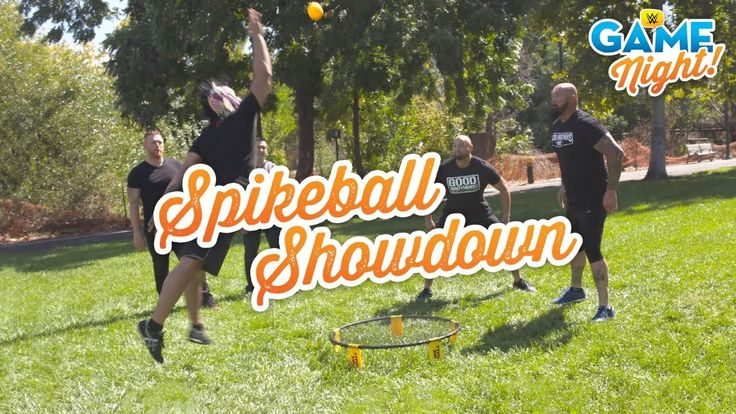 WWE Superstars play Spikeball: WWE Game Night  ||  Just in time for tailgating season, Luke Gallows & Karl Anderson face Lince Dorado & Gran Metalik in a high-flying game of Spikeball. Get your first month of... https://www.youtube.com/watch?v=UzMX0_mxw4U