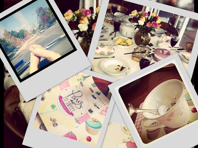Road trips, Paris, granola, Teacups and Love feasts♥