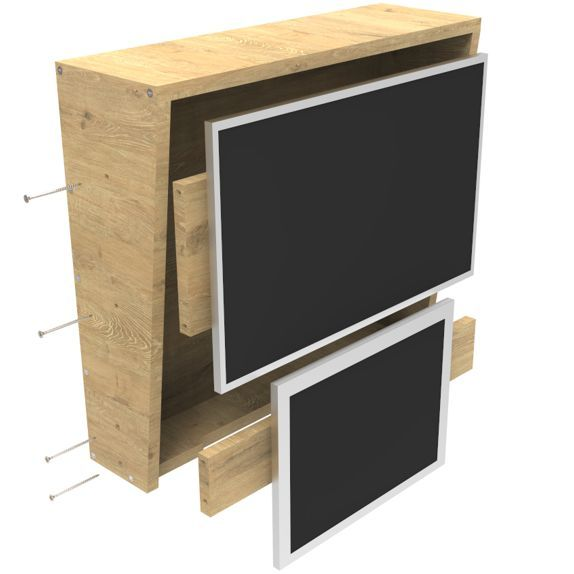 back box monitor insert