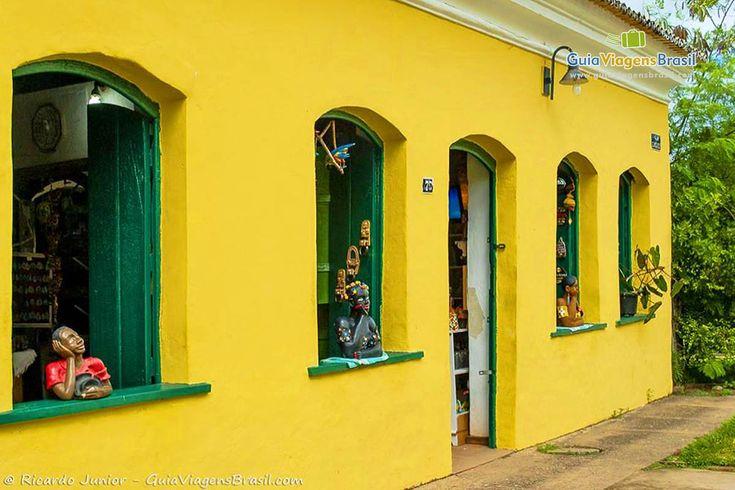 Casa do Centro Histórico de Porto Seguro, BA. Foto: Ricardo Junior.  Confira o Guia Completo da Cidade > http://www.guiaviagensbrasil.com/blog/guia-completo-de-porto-seguro-e-arredores