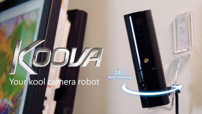 Koova Portable Robotic Camera with Auto Tracking