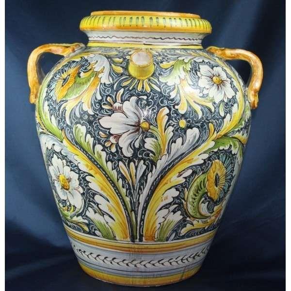 Vasi In Ceramica Di Vietri.Ceramiche Di Vietri Ceramica Decorazioni Floreali E Decorazioni