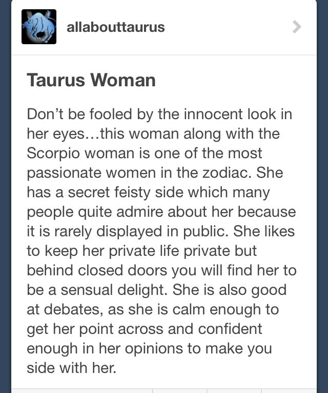 How to seduce a taurus woman sexually