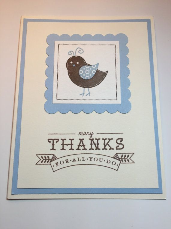 I made this card using a greeting set from Papertrey Ink and a letterpress bird from Paper Source. LOVE letterpress!