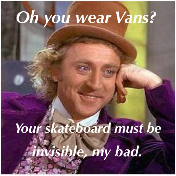 yes. #vans #posers #funny