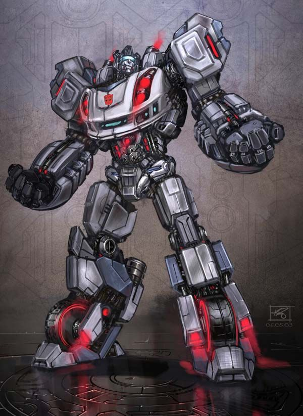 Jazz - Fall of Cybertron concept art