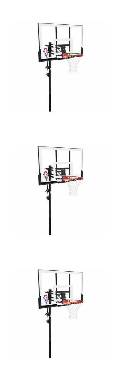Backboard Systems 21196: Spalding 54 Acrylic In Ground Basketball Hoop System Outdoor Backboard Nba Pro -> BUY IT NOW ONLY: $283.99 on eBay!