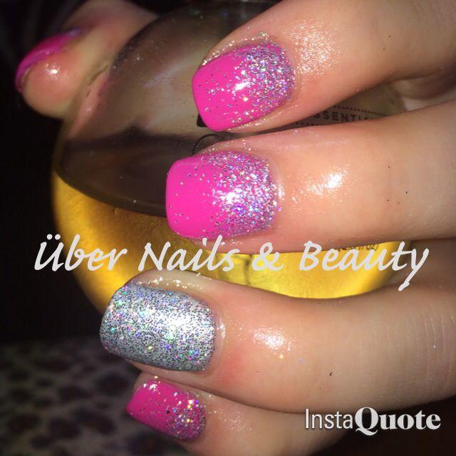 Pretty pink glitters