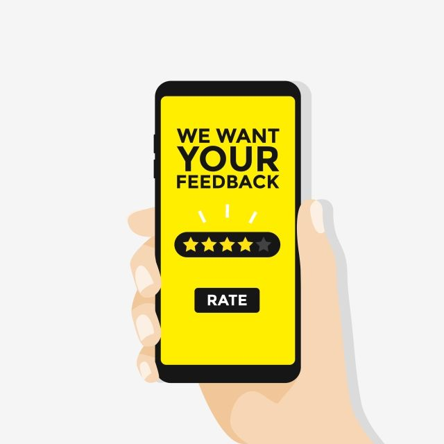 We Want Your Feedback Hand Want To Give Five Star Rating On Smartphone Advertising Banner Business Png And Vector With Transparent Background For Free Downlo Star Rating Five Star Want You
