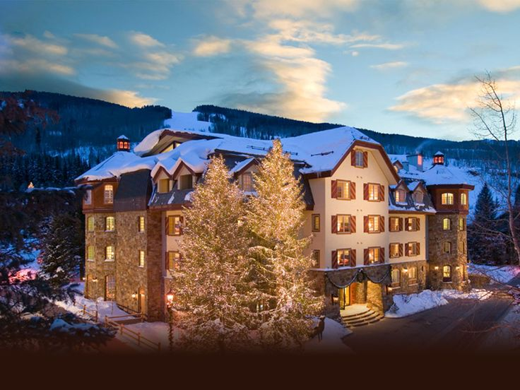 Wooden style  Luxury Hotel in Vail Village | Tivoli Lodge in Vail Colorado