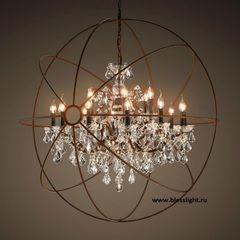 люстра Foucault's orb crystal 5014-D15