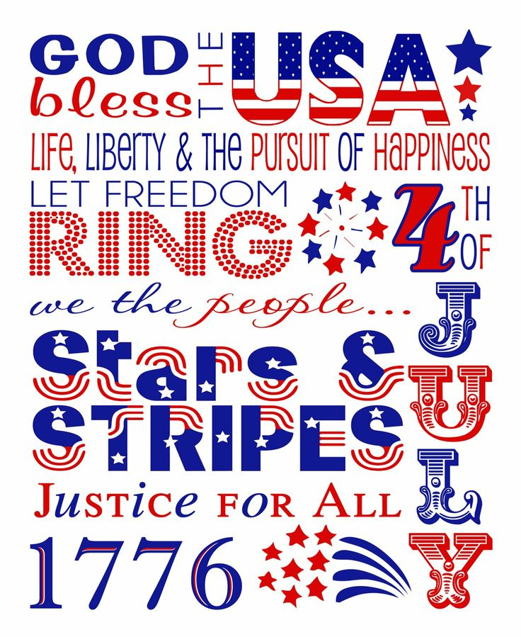 4th of July Party InspirationPrintables, Subway Art, America, Patriots Holiday, July Subway, 4Th Of July, 4Th July, July 4Th, Red White