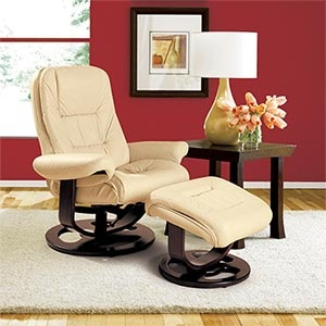 Lane ® Andre Ivory Top Grain Leather Reclining Chair and Ottoman & 74 best Chairs images on Pinterest | Recliners Chairs and Lounge ... islam-shia.org