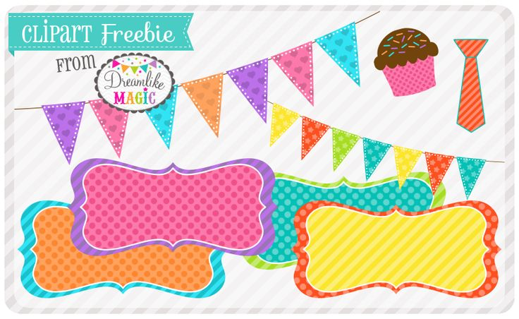 Absolutely adorable & FREE clip art available from Dream Like Magic Designs