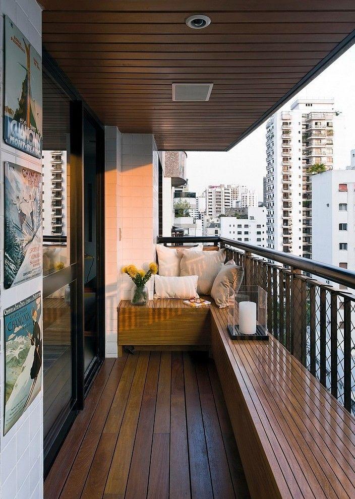 Der moderne Balkon - unser kleines Wohnzimmer im Sommer