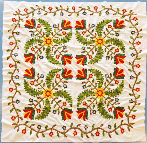 3181 Best Antique Applique Quilts Images On Pinterest