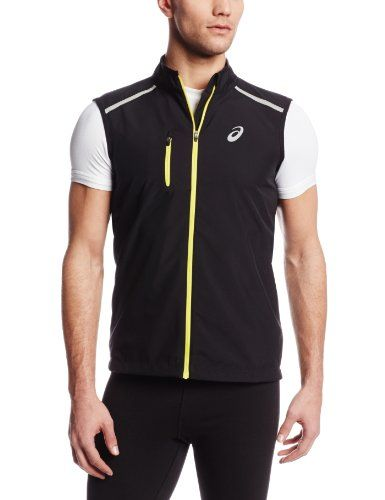 Asics Men's Speed Windstopper Vest, Performance Black, Small. Drawcord for adjustability. Weather can never stop a runner who is equipped with our ASICS Speed Windstopper Vest. It gives a core a water/wind-repellent layer that, despite its protective properties, remains comfortable, breathable, and stretchy - never hindering freedom-of-movement. Reflective elements for increased visibility. Chest pocket for storage. Windstopper's Soft Shell is highly breathable, water repellent and...