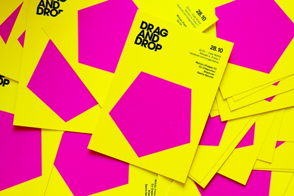 DRAG AND DROP on Behance