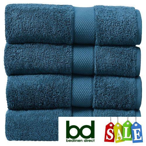 Sheridan Kingfisher Egyptian Cotton Towels