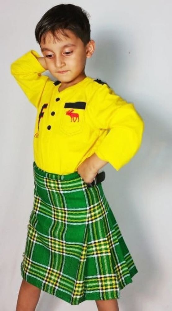 Irish Tartan Baby Kilt by Scottish Kilt   Made To Measure #ScottishKilt #Kilt