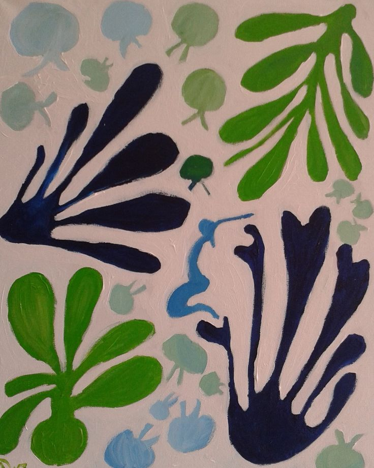 geinspireerd door #Matisse 1
