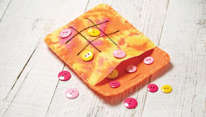 Tic Tac Toe On-The-Go | Sewing Classes | Kids' Crafting Classes