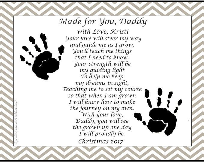 Daddy Teach Me To Fish Personalized Poem 8 X 10 Art Print Baby