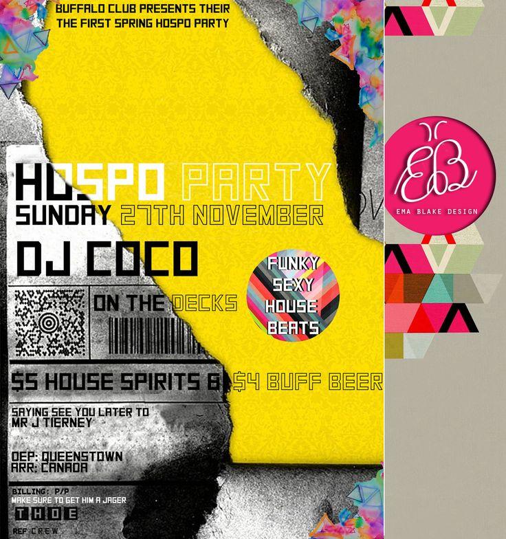 Hospo Party | Leaving Do | Buffalo Club | Queenstown | New Zealand