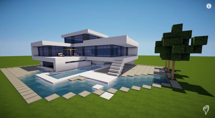How To Build A Modern House / Best Modern House HD Tutorial
