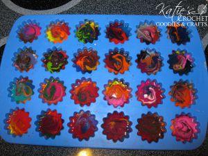 Recycling: Crayon Craft - Katie's Crochet Goodies