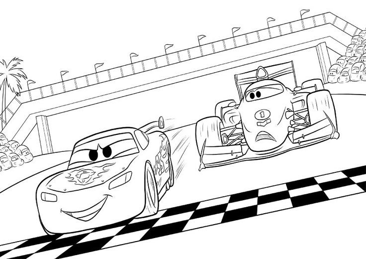 25 best Coloring pages cars images on Pinterest | Coloring books ...