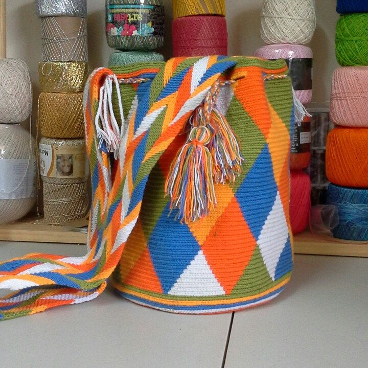 This is the Mochila Wayuu Bag for the month