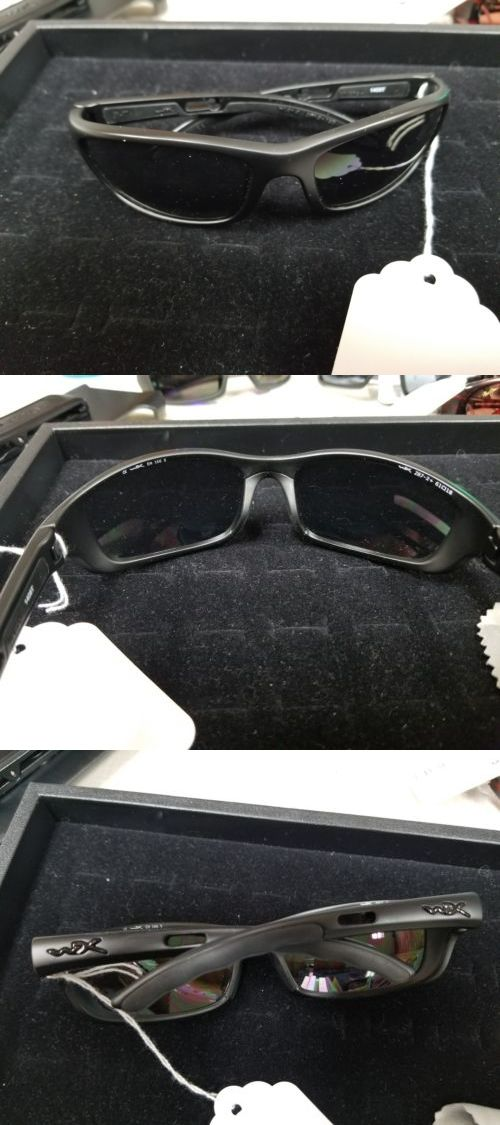 Shooting and Safety Glasses 151549: Wiley X Black Ops Matte Black Frame Smoke Grey Lenses Sunglasses # P-17M New -> BUY IT NOW ONLY: $45.99 on eBay!