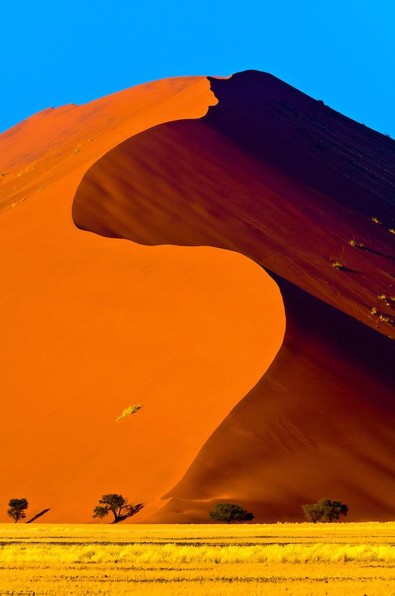 Sossusvlei Sand Dunes (highest dunes in the world), Namib Desert, Namib-Naukluft National Park, Namibia by Blaine Harrington
