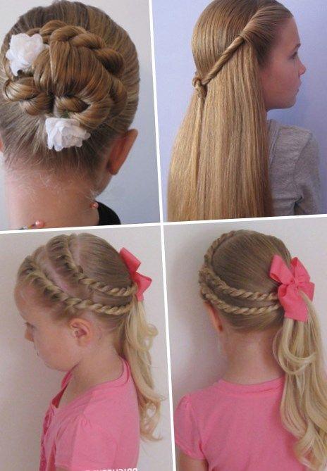 Разные прически для девочек - http://popricheskam.ru/228-raznye-pricheski-dlja-devochek.html. #прически #стрижки #тренды2017 #мода #волосы