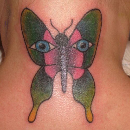 The Butterfly Tattoo Designs: Cute Butterfly Tattoo ~ tattooeve.com Tattoo Design Inspiration