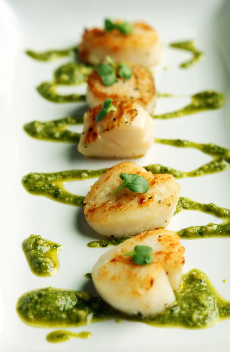 how to cook scallops without butter