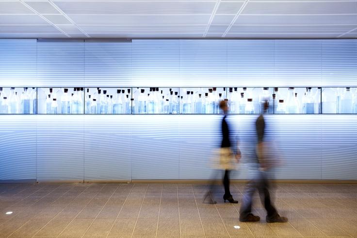La fresque multimédia de Moment Factory dans la Maison-des-Marins, le cinquième pavillon de Pointe-à-Callière.  Photo: Adrien Williams