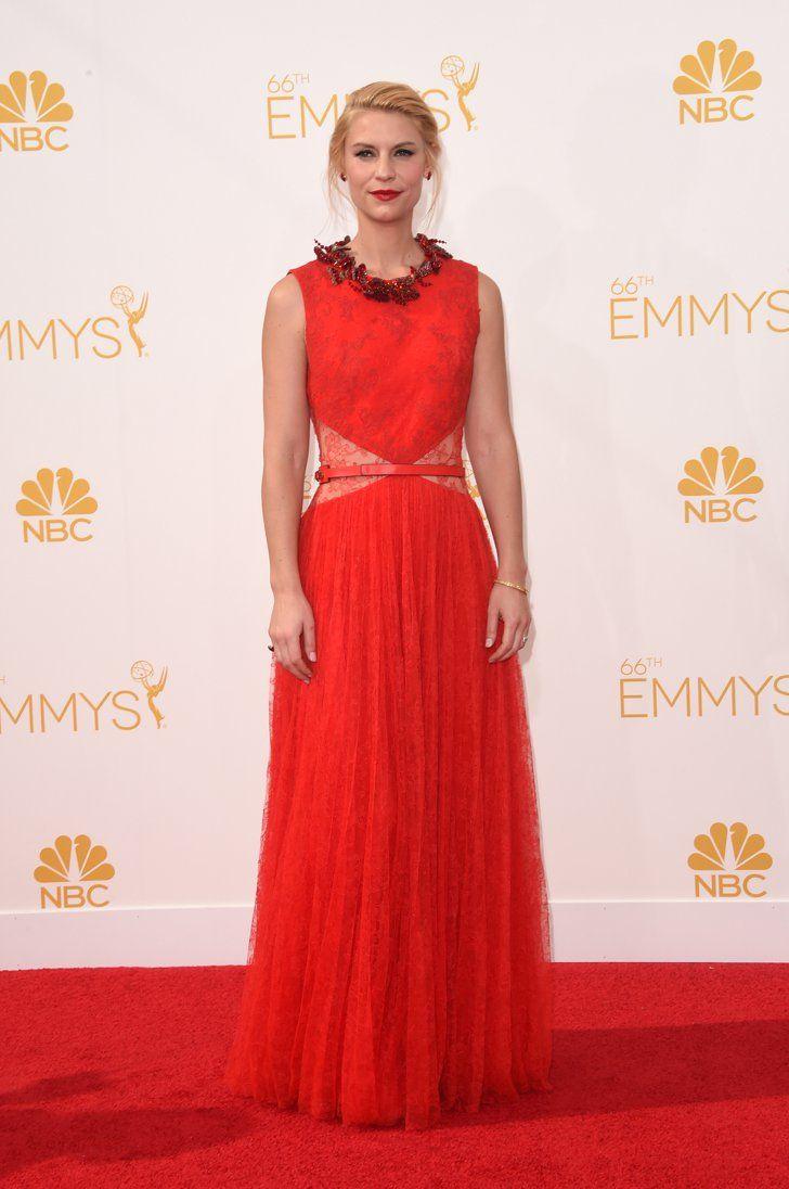 Pin for Later: 33 Tenues Inspirées Par les Emmy Awards Claire Danes La robe Givenchy de Clare Danes a boosté le sex-appeal de l'actrice avec ces découpes couvertes de dentelle.