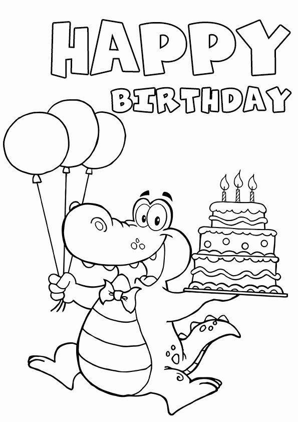 Happy Birthday Printable Coloring Cards Awesome Cool And Funny Printable Happy B Geburtstagskarten Zum Ausdrucken Geburtstagskarte Malvorlagen Zum Ausdrucken