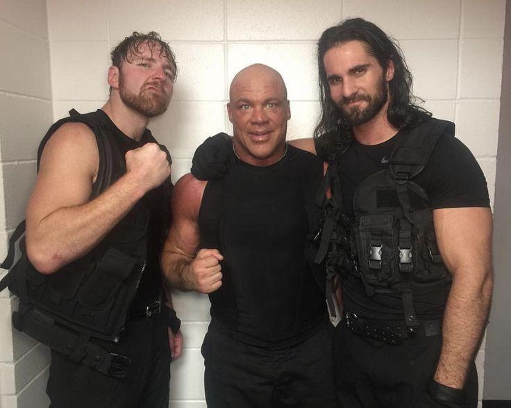 Dean Ambrose, Kurt Angle & Seth Rollins