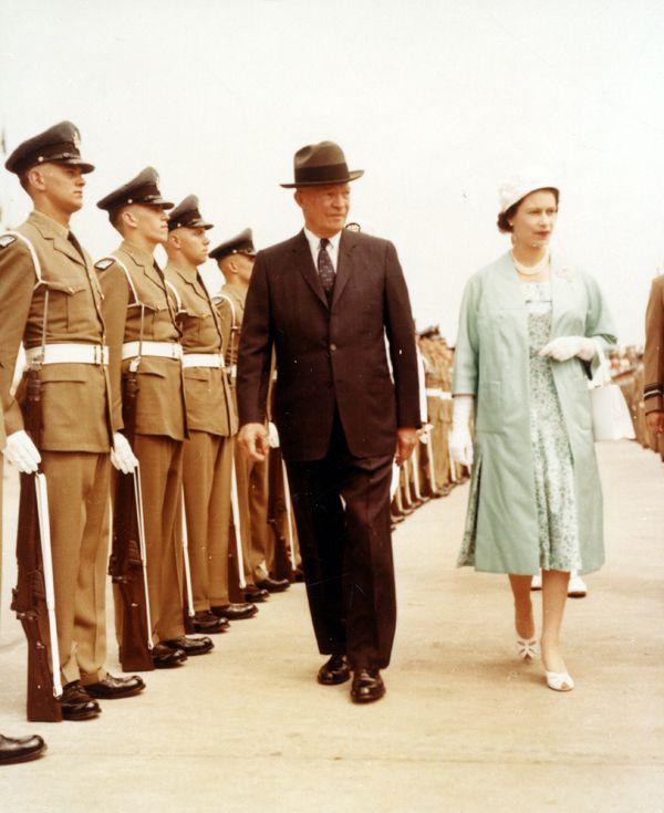 "Drop Scones"" Letter from Queen Elizabeth to Eisenhower President ..."