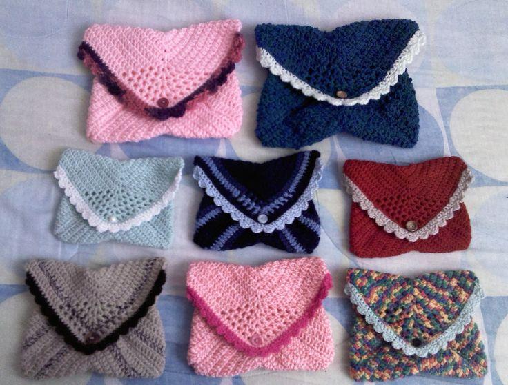 Carteras al crochet