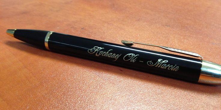 Długopis/ pióro z grawerem | Reklama KUBUŚ
