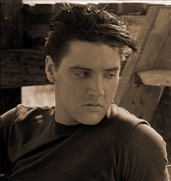 King Creole (1958) #Elvis the sexiest man ever! Loving this photo