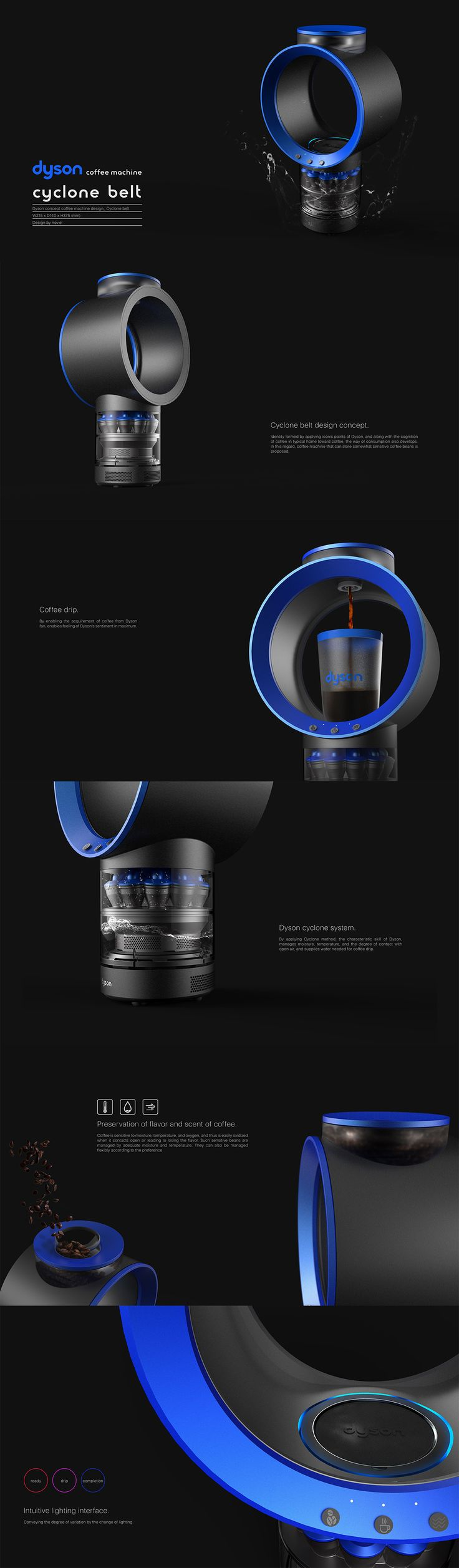 Product design / Industrial design / 제품디자인 / 산업디자인 / coffee machine / dyson…